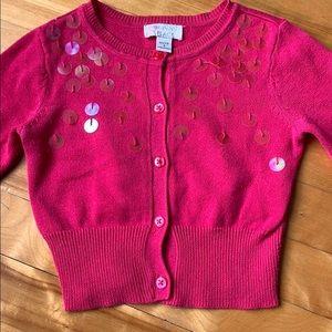 (3 for $20)  4Y Pink Cardigan